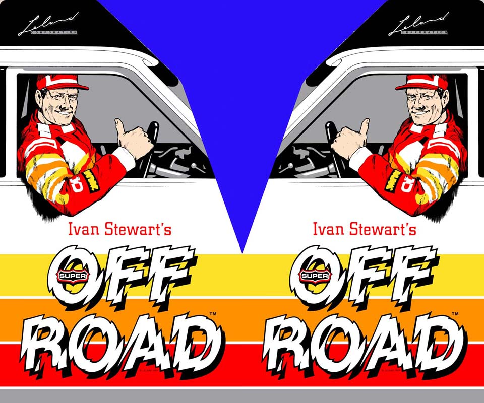 New Ivan Stewart's Super Off Road sideart set